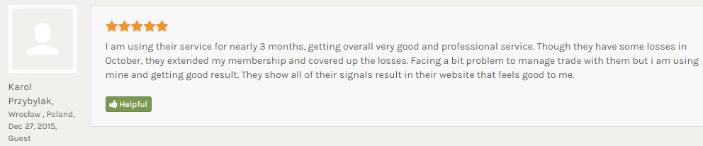 client review from Poland